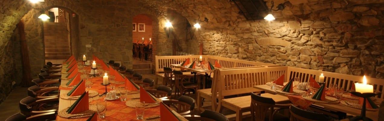 Restaurace pod Věží - kamenný sklep