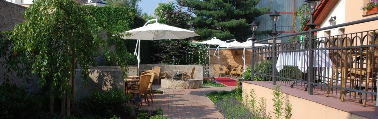Restaurace pod Věží - zahrada