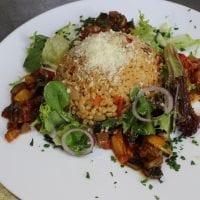 Bulgurové rizoto se zeleninou a parmezánem A